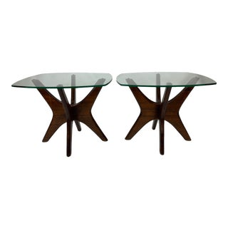 1950s Mid-Century Modern Adrian Pearsall Jacks End Tables - a Pair For Sale