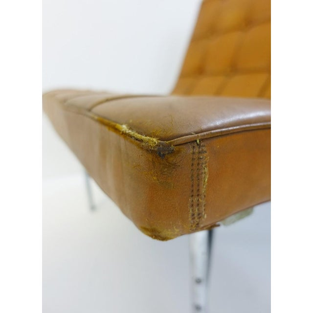 Animal Skin Pair of Two Armchairs by William Katavolos for Icf Milano, 1990 Italy For Sale - Image 7 of 8