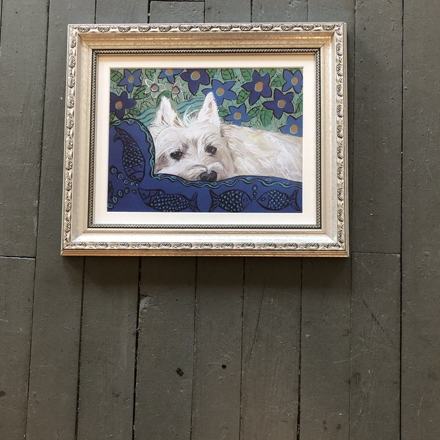2010s Contemporary Westie Dog Print by Judy Henn For Sale - Image 5 of 5