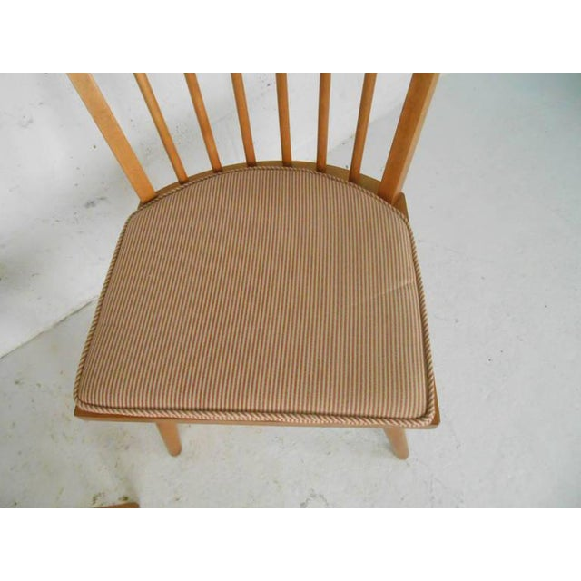 Leslie Diamond for Conant-Ball Mid-Century Chairs - Set of 4 For Sale - Image 9 of 11