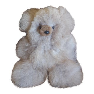 Vintage Real Fur Teddy Bear