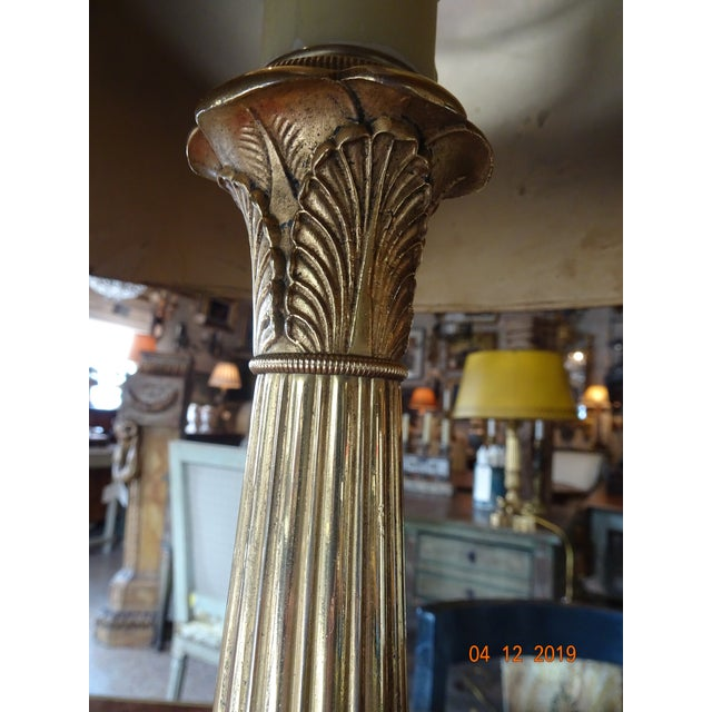 Late 19th Century Pair of 19th Century French Bouillotte Lamps For Sale - Image 5 of 12