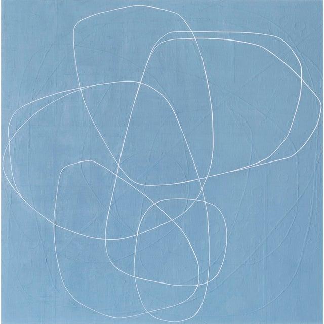 """Blue Maura Segal, """"Denim"""" For Sale - Image 8 of 8"""