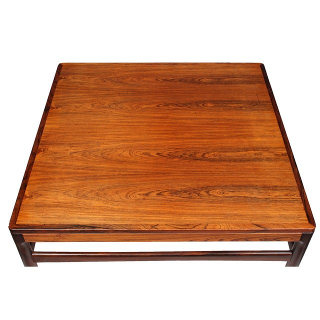 Danish Mobler Rosewood Coffee Table - Image 4 of 5