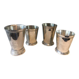 Silver Mismatched Mynt Juleps Cups - Set of 4