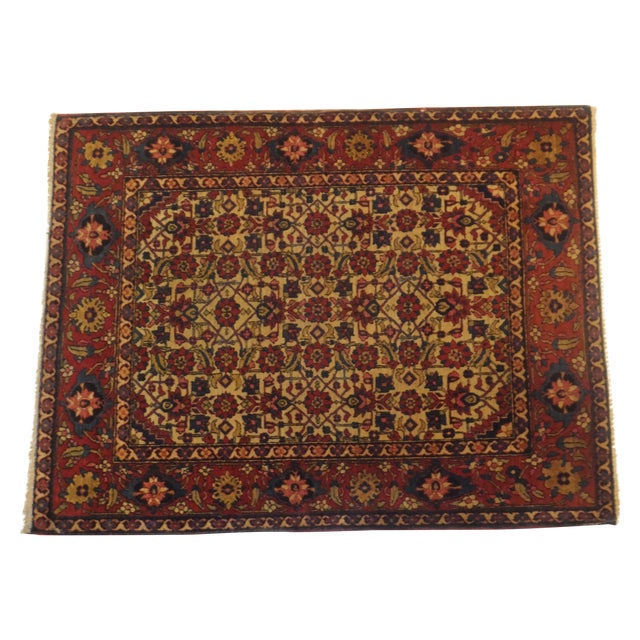 Antique Persian Isfahan Rug - 4' x 3' - Image 1 of 5