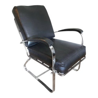 Art Deco Machine Age Chair by McKay