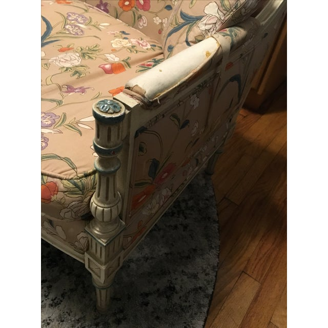 French Style Vintage Loveseat Settee - Image 7 of 8