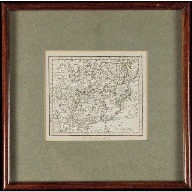 Late 18th Century Antique Chinese Tartary (London) Map | Chairish