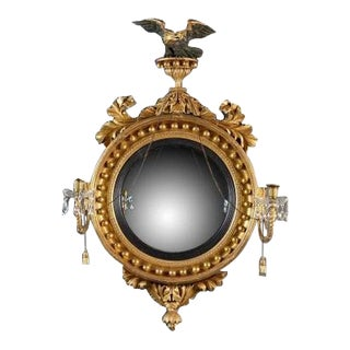 A Convex Mirror by Thomas Fentham For Sale