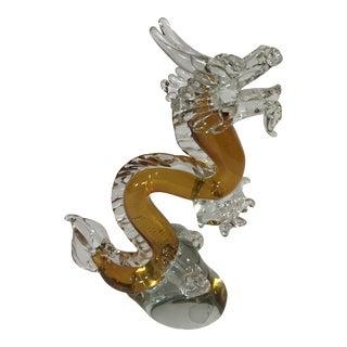 Murano Art Glass Dragon For Sale