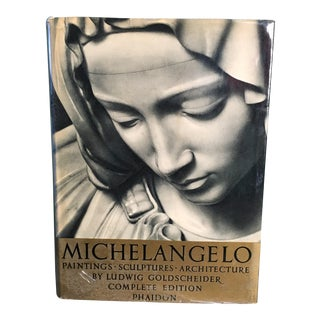 Vintage Michelangelo Complete Edition Phaidon Book For Sale