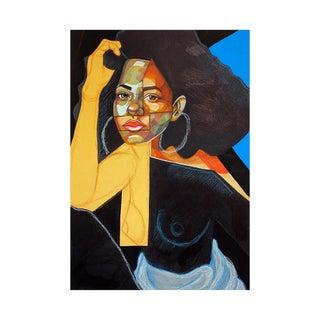 """Black Picasso"" Original Artwork by Domonique Brown For Sale"