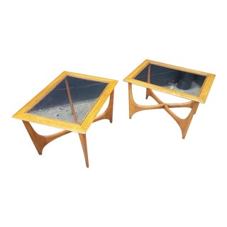 Lane Silhouette End Tables - a Pair For Sale