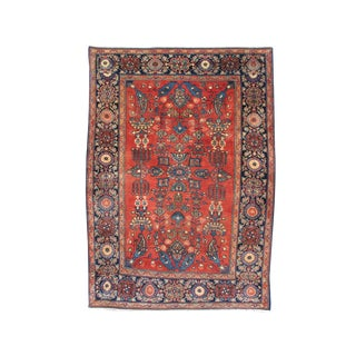 Central Persian Sarouk Carpet - 3′3″ × 4′9″ For Sale