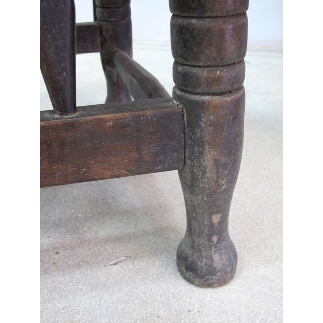 Rare 1950s Ashanti Throne Chair For Sale - Image 9 of 10