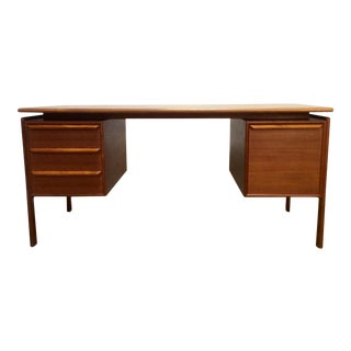 G. V. Gasvig Danish Modern Executive Teak Desk