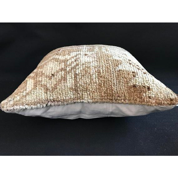 Turkish Oushak Antique Handmade Pillow Case For Sale - Image 9 of 11