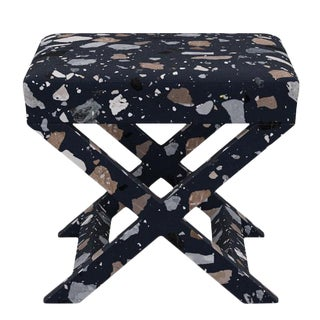 X Bench in Deep Blue Sperduti For Sale