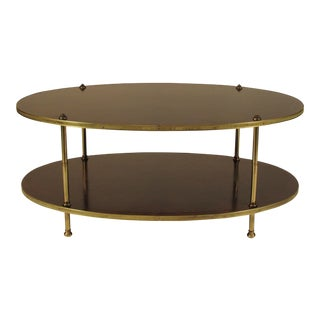 1950s Vintage Regency-Style Coffee Table For Sale