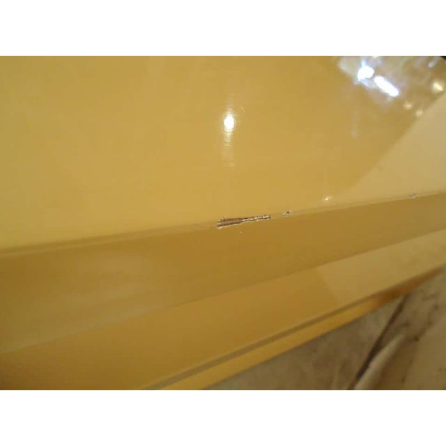 1960s Mod Style Lacquered Console For Sale - Image 4 of 9