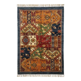 """Floral Design Traditional Area Rug - 4'2"""" X 6'2"""""""