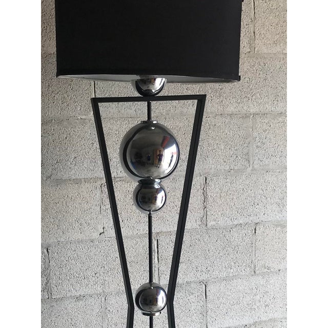 1980s Mid-Century Modern Style Floor Lamp For Sale - Image 5 of 12