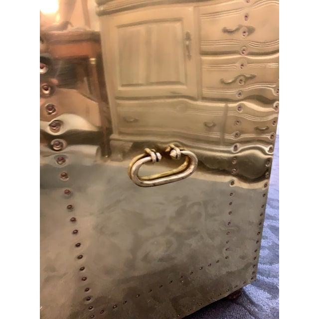 1970's Vintage Brass Dresser by Sarreid Ltd. For Sale - Image 9 of 10
