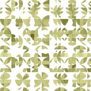 Botanica 'Aloe Vera' Metallic Grass Cloth Wallpaper Roll For Sale