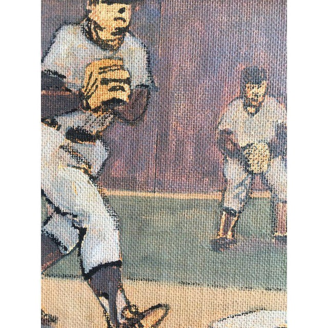 Arthur Smith Baseball Watercolors From 'Baseball' Series - A Pair For Sale - Image 10 of 11