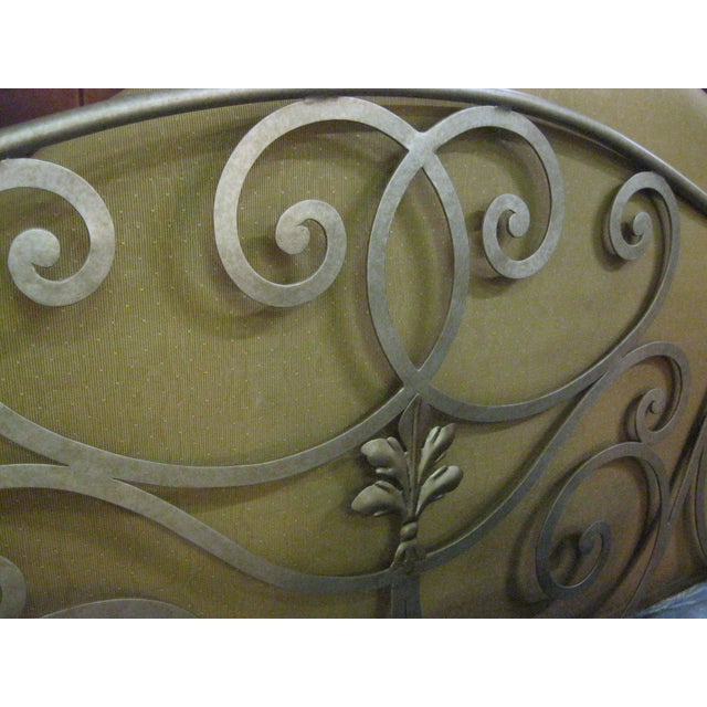 Metal Scroll Design King Size Bed - Image 3 of 5