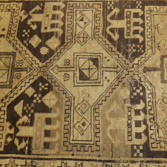 "Traditional Antique Russian Akstafa Rug - 7'1"" x 3'5"" For Sale - Image 3 of 6"