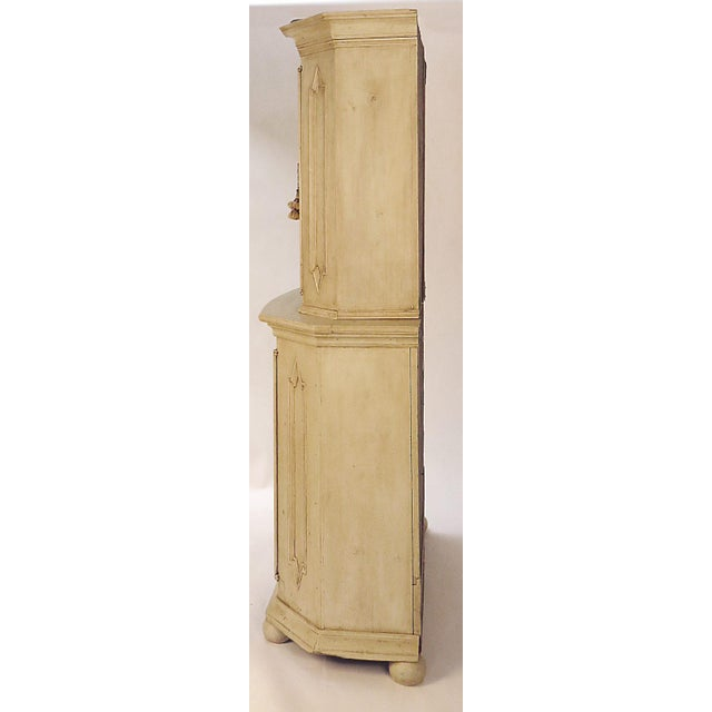 Mid-Century Modern 18th Century Swedish Painted Armoire For Sale - Image 3 of 5
