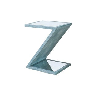 Contemporary Turquoise Z Table For Sale