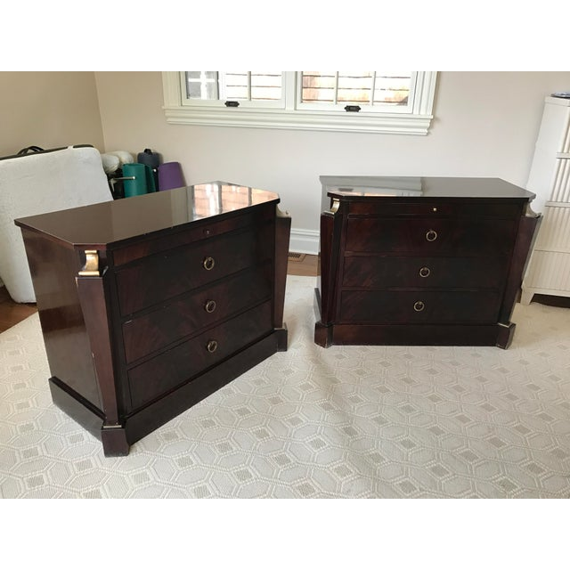 Thomas Pheasant Empire Chest / End Tables - A Pair - Image 2 of 8