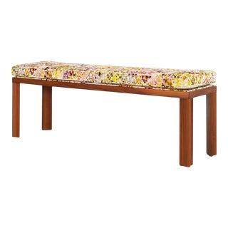 Alexander Girard Wooden Bench For Sale