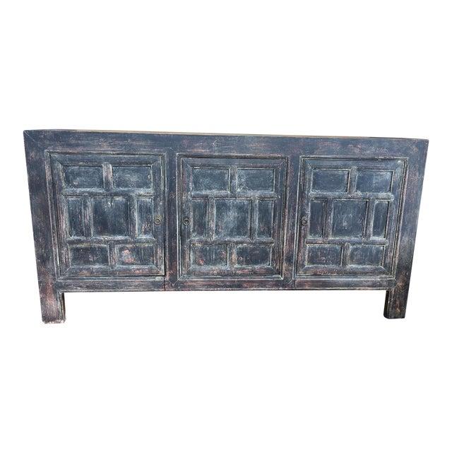 Chinese Import Pine Wood Buffett - Image 1 of 10