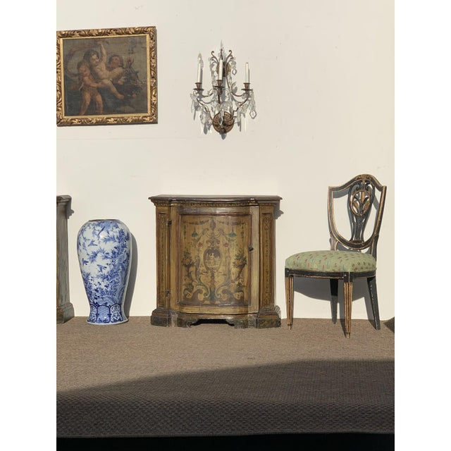 Early 19th C. Neoclassical European Shield Back Side Chairs - a Pair For Sale - Image 9 of 11