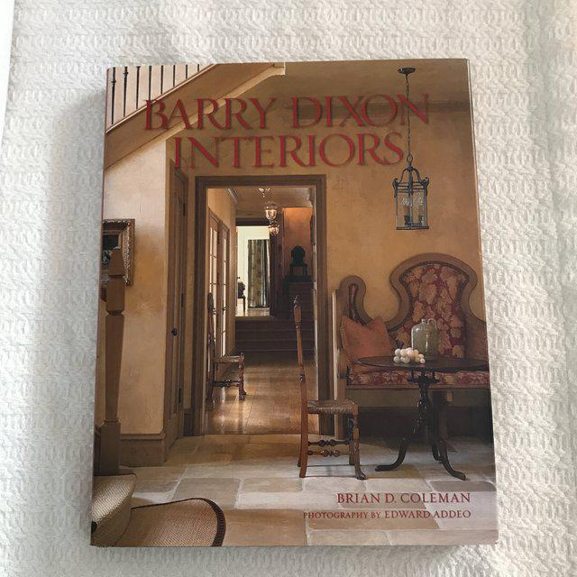 Barry Dixon Interiors Book - Signed For Sale - Image 4 of 11