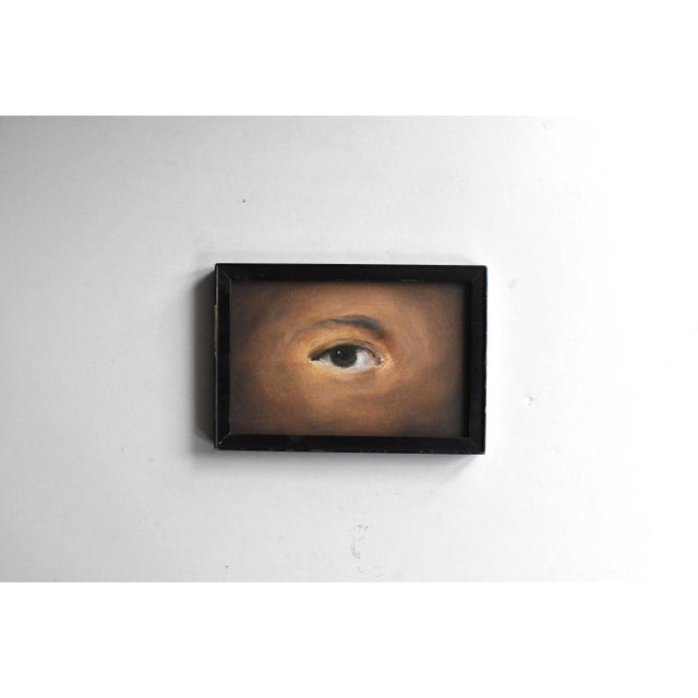 Contemporary Contemporary Lover's Eye Painting by Susannah Carson For Sale - Image 3 of 4