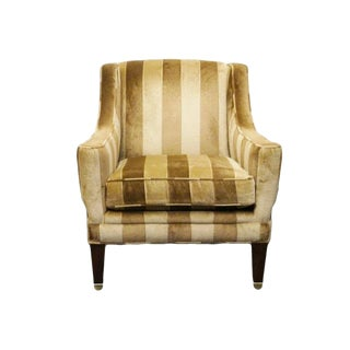 Late 20th Century Vintage Trs Furniture Upholstered Club Chair For Sale