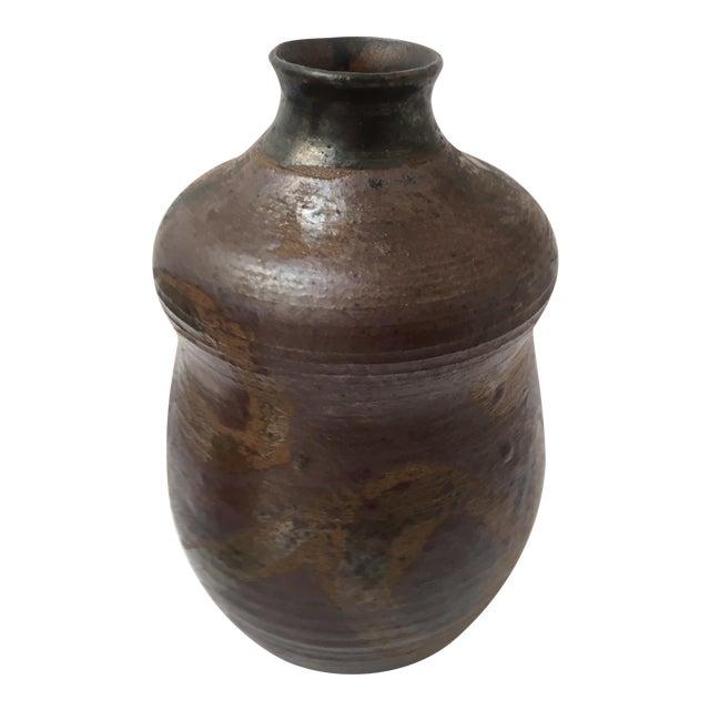 Brown Glazed Vessel - Image 1 of 5