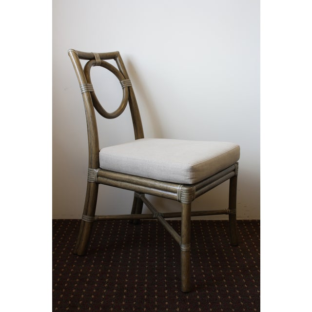 McGuire Thomas Pheasant Open Back Chair - Image 3 of 6