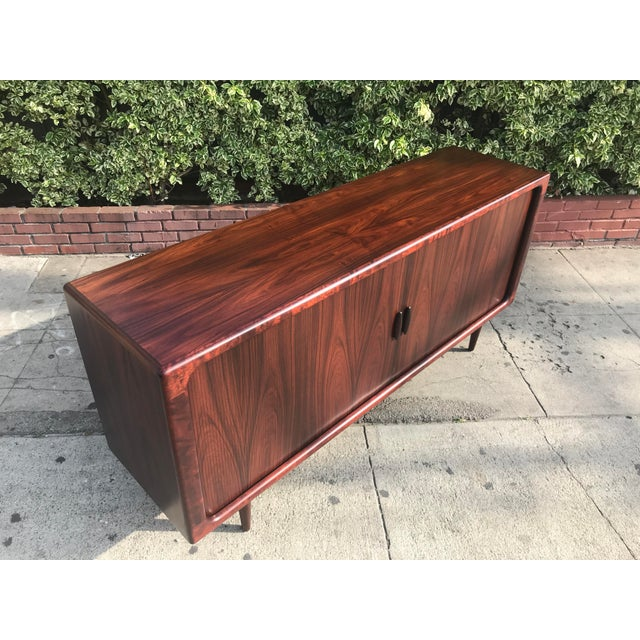 Dyrlund Mid-Century Rosewood Credenza For Sale - Image 4 of 11
