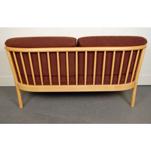 Vintage Swedish Modern Loveseat - Image 4 of 5