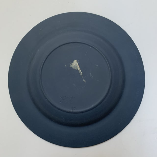 1970s Wedgwood Portland Blue Jasperware Executive Ashtray For Sale In Chicago - Image 6 of 7