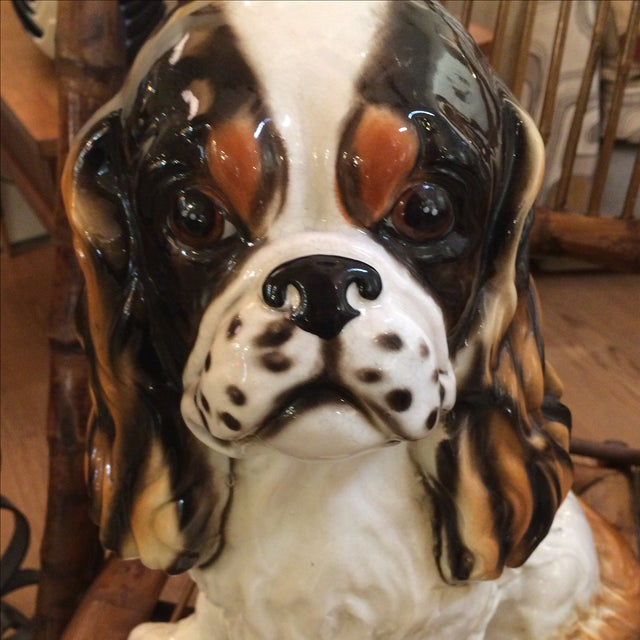 King Cavalier Spaniel Statue For Sale - Image 5 of 7