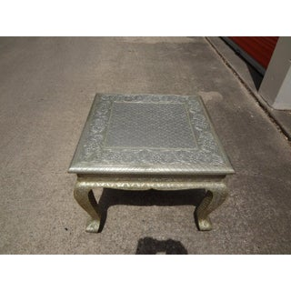 Vintage Anglo-Indian Metal Clad Table Preview