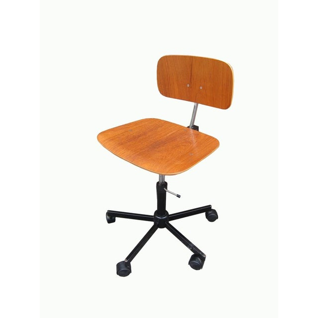 Mid-Century Modern Desk Chair - Image 3 of 8
