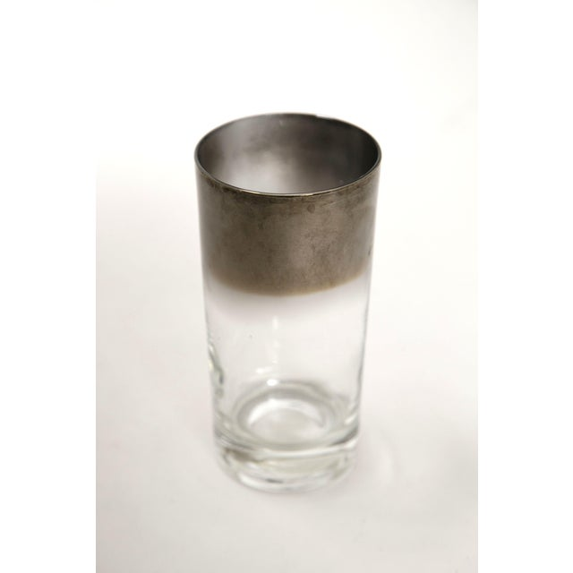 Mid-Century Silver Highball Glasses - Set of 8 - Image 5 of 6